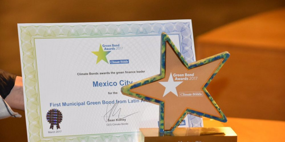 CDMX, primera en América Latina en emitir Bono Verde