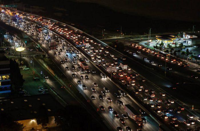 Tráfico en la Ciudad de México.