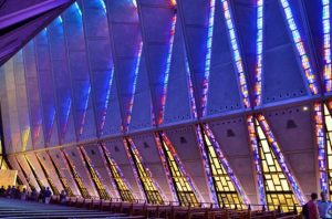 Air Force Academy Cadet Chapel - El Paso, Colorado, Estados Unidos