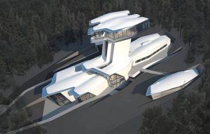Mansión inspirada en una nave espacial - Moscú, Rusia