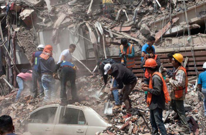 ¿Qué pasó con los residuos de los derrumbes del sismo?