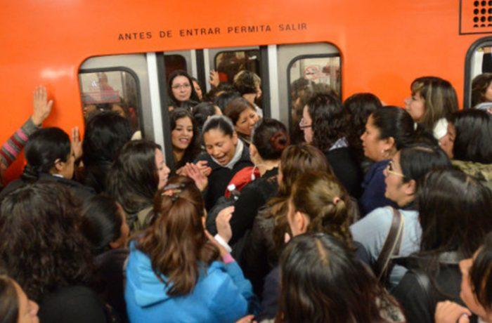 El transporte público vuelve agresivas a las personas