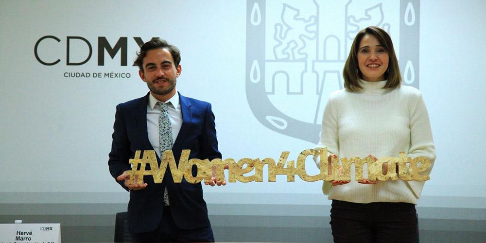 """Sedema y C40 presentan la iniciativa """"Mujeres por el Clima"""""""