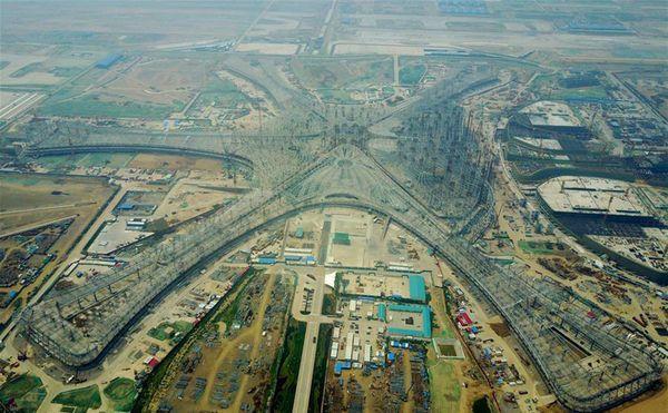 China construye 8 aeropuertos al año
