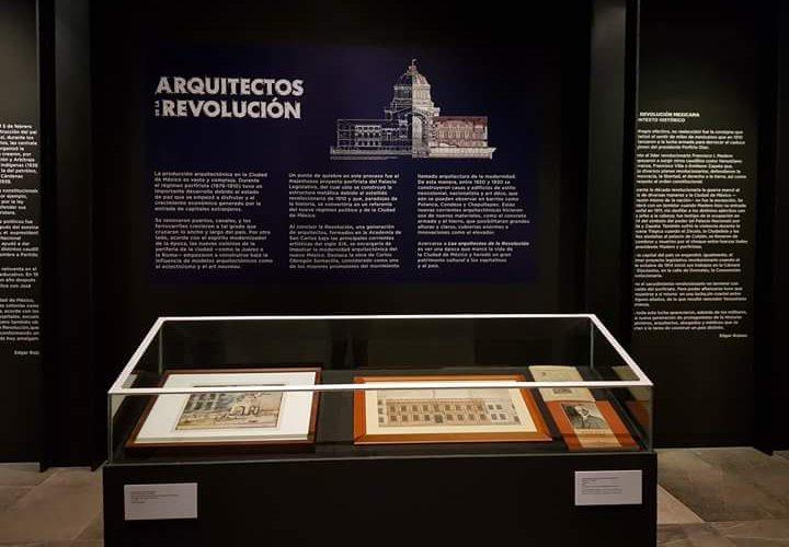 """Exposición """"Arquitectos de la Revolución"""""""