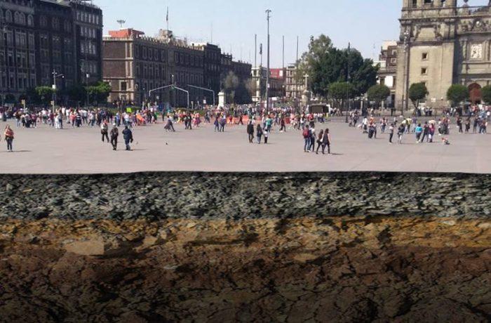 La sobreexplotación de los mantos acuíferos en la Ciudad de México