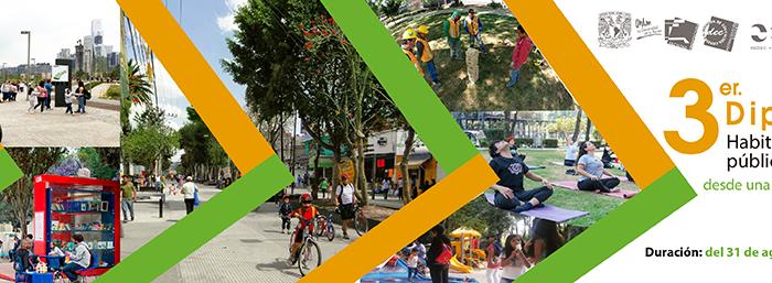 3er. Diplomado Habitabilidad, Espacio Público y Ciudades Seguras