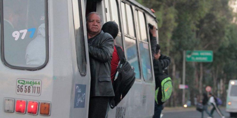 ¿Cuánto tiempo invierten las personas en el transporte público en la CDMX y la ZMVM?