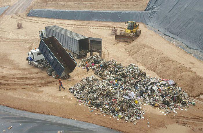 Construyendo sobre basura