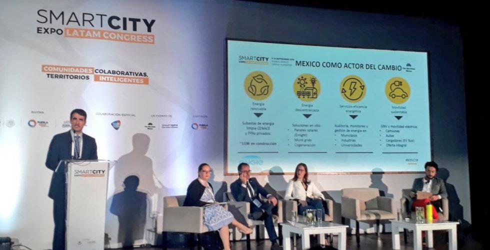 Energía renovable, solución para combatir efectos del cambio climático: Smart City Expo Latam Congress