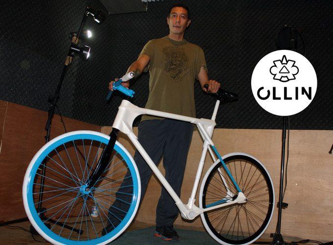 Ollin X500: Primera bicicleta eléctrica experimental energizada por hidrógeno en México