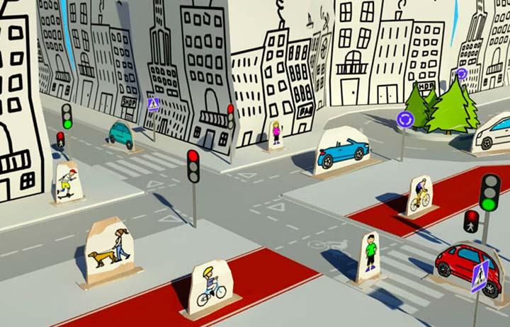 ¿Conoces estas señales viales que son parte del paisaje urbano en la Ciudad de México?