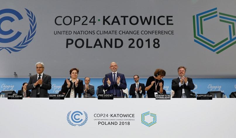 Se acordó como aplicar las reglas del Acuerdo de París contra el cambio climático
