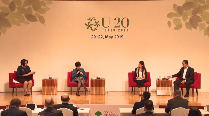 Las ciudades del Urban 20 se reúnen en Tokio para instar al G20 a tomar medidas urgentes relativas al cambio climático